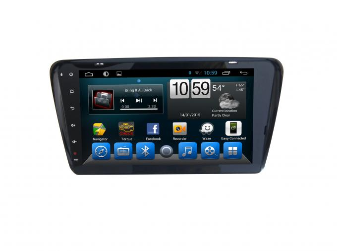 GPS Volkswagen Skoda Octavia Android Car GPS Navigation Capacitive Screen