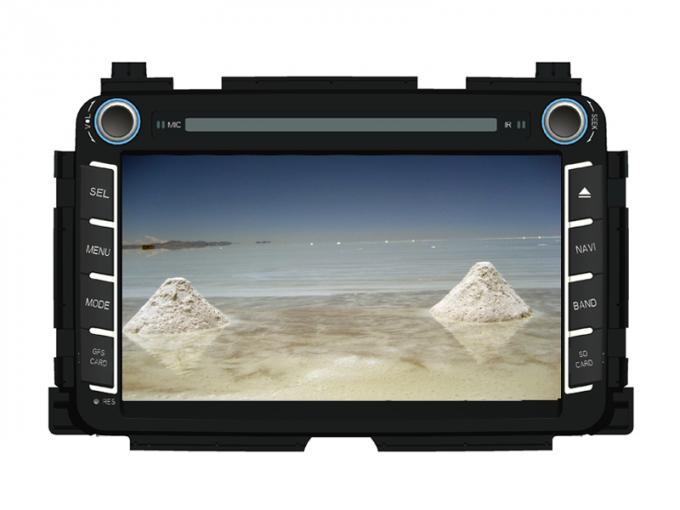 Touch screen car dvd player honda HRV navigation system with gps wifi for Vezel HRV