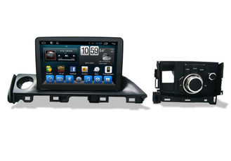 2 Din Radio Central Multimidia GPS , Car Gps Navigation System for Mazda 6 Atenza