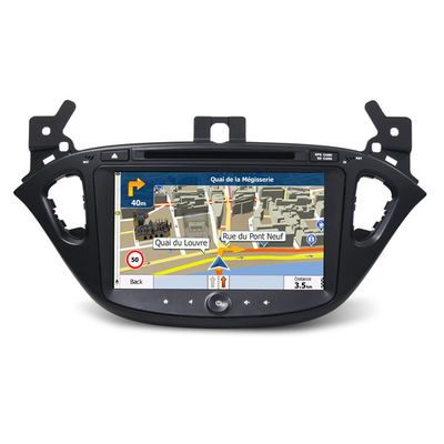 ประเทศจีน In Vehicle Infotainment Car Multimedia Navigation System / Car Dvd Player For Opel Corsa 2015 ผู้ผลิต