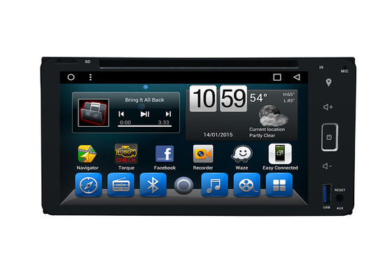 ประเทศจีน Octa Core Indash Navigator Double Din Car DVD Player 6.95 Inch For Universal ผู้ผลิต