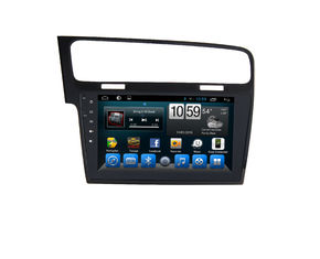 ประเทศจีน Volkswagen Android Car GPS Navigation Touch Screen Audio Wifi Mp3 / Mp4 For VW Golf 7 ผู้ผลิต