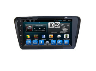 ประเทศจีน GPS Volkswagen Skoda Octavia Android Car GPS Navigation Capacitive Screen ผู้ผลิต